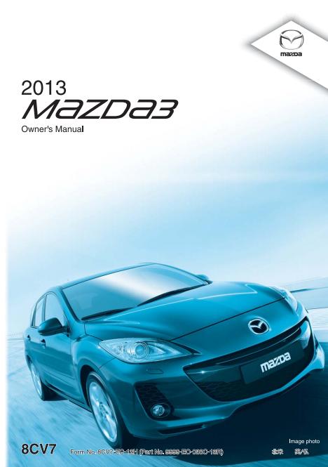2013 Mazda3 Sports Owner's Manual Image