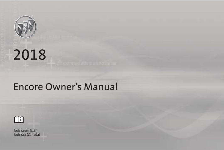2018 Buick Encore Owner's Manual Image