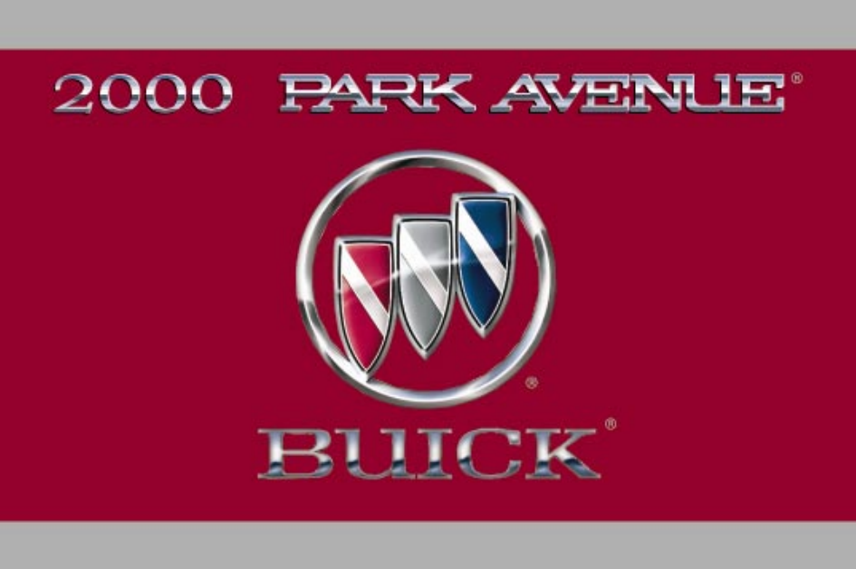 2000 Buick Park Avenue Owner's Manual Image