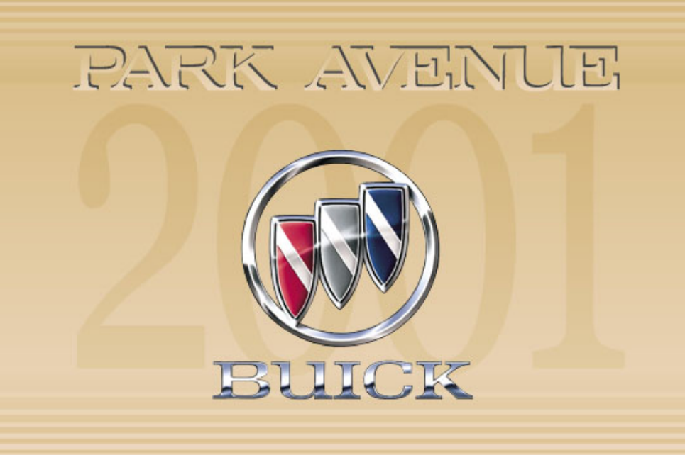 2001 Buick Park Avenue Owner's Manual Image
