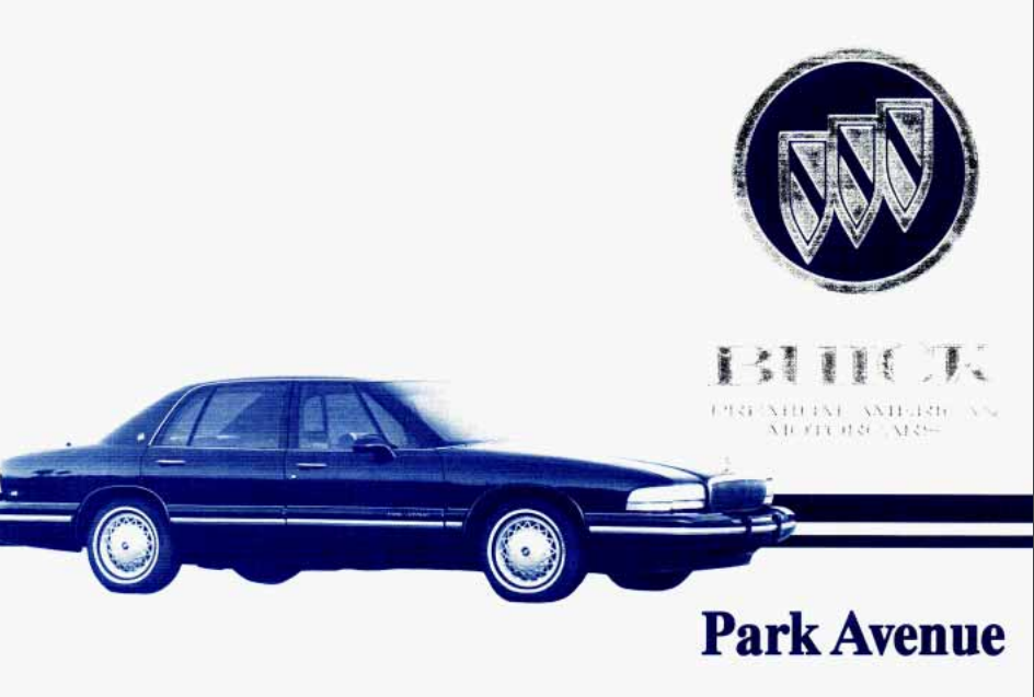 1995 Buick Park Avenue Owner's Manual Image