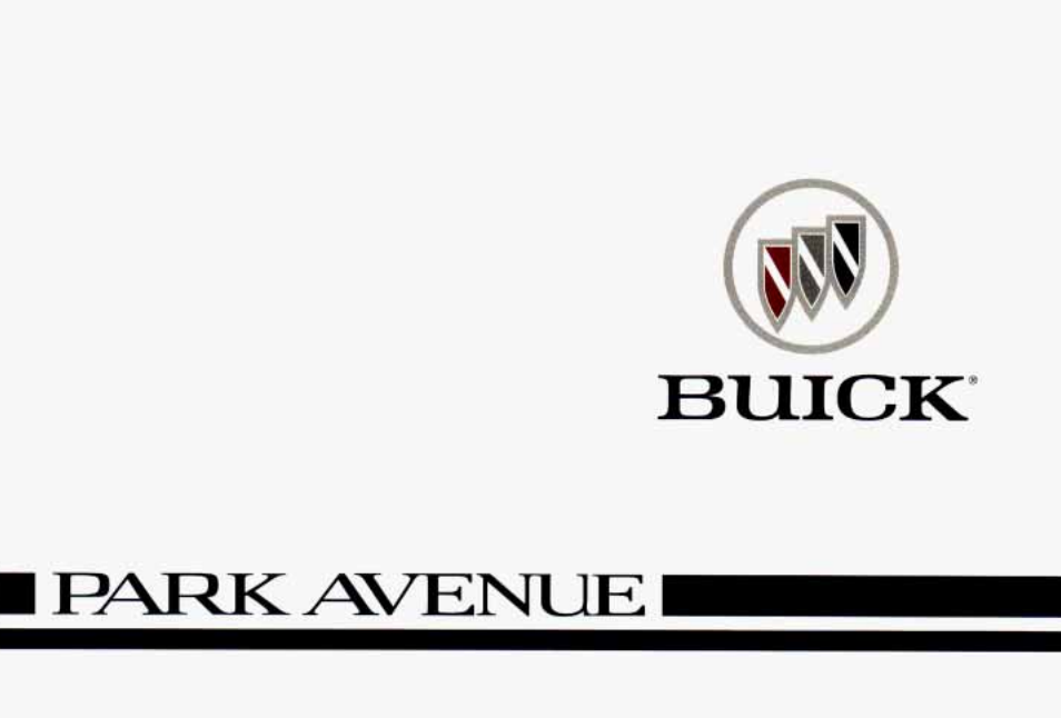 1996 Buick Park Avenue Owner's Manual Image