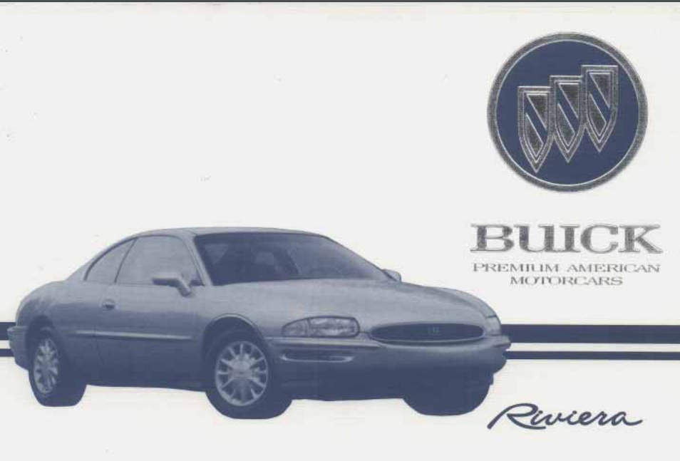 1995 Buick Riviera Owner's Manual Image