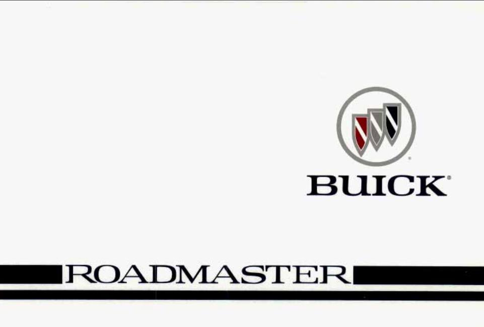 1996 Buick Roadmaster Owner's Manual Image
