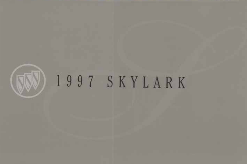 1997 Buick Skylark Owner's Manual Image
