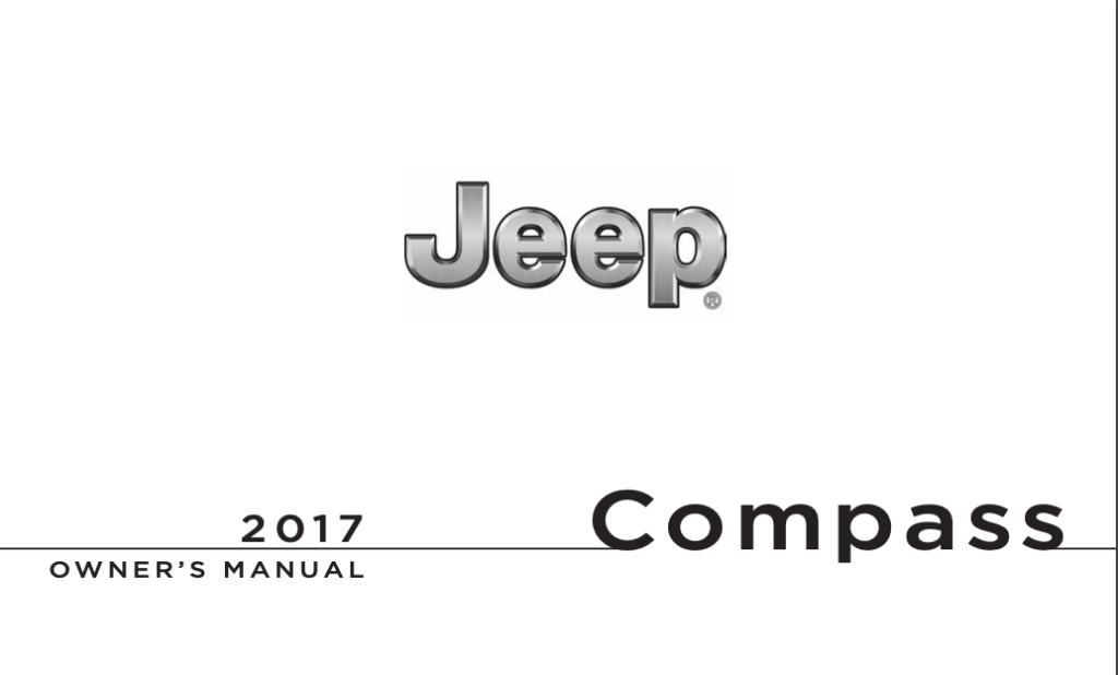 2017 Jeep Comp Owner S Manual
