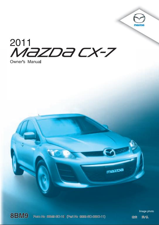 2011 Mazda CX-7 Owner's Manual Image