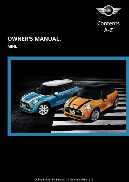 2015 Hardtop 4-door with Mini Connected Owner's Manual Image