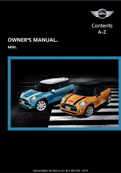 2016 Hardtop 4-door with Mini Connected Owner's Manual Image