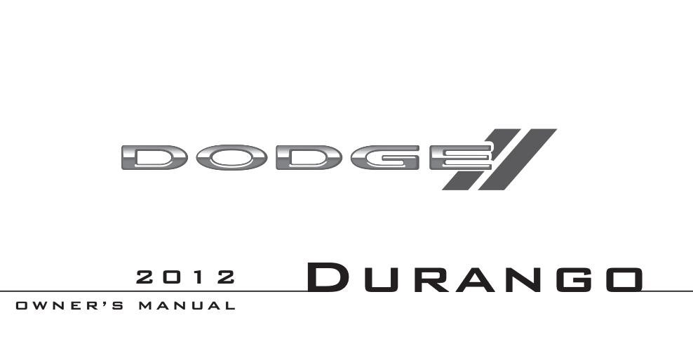 2012 Dodge Durango Image