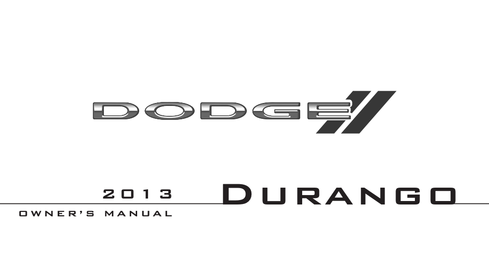 2013 Dodge Durango Image