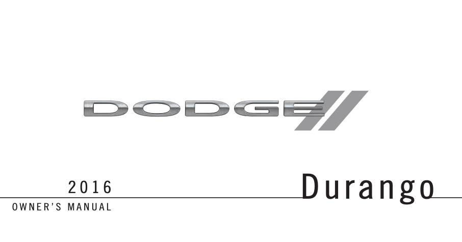 2016 Dodge Durango Image