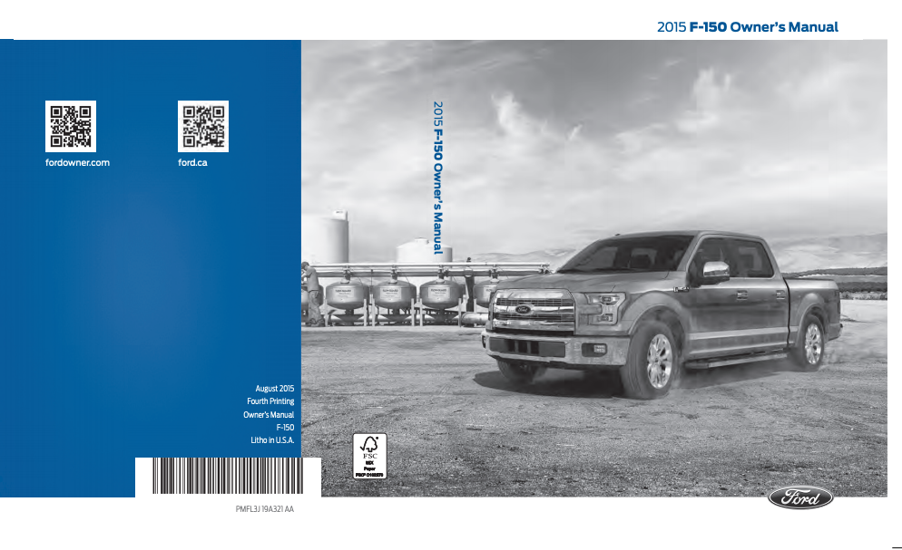 2015 Ford F-150 Owner's Manual Image