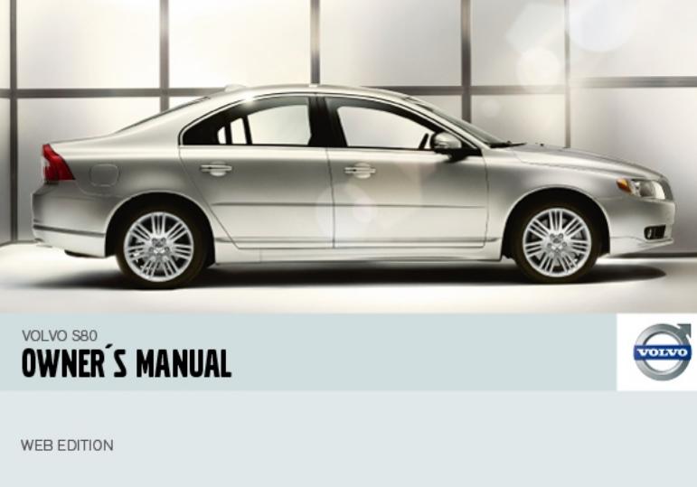 2007 Volvo S80 Owner's Manual Image