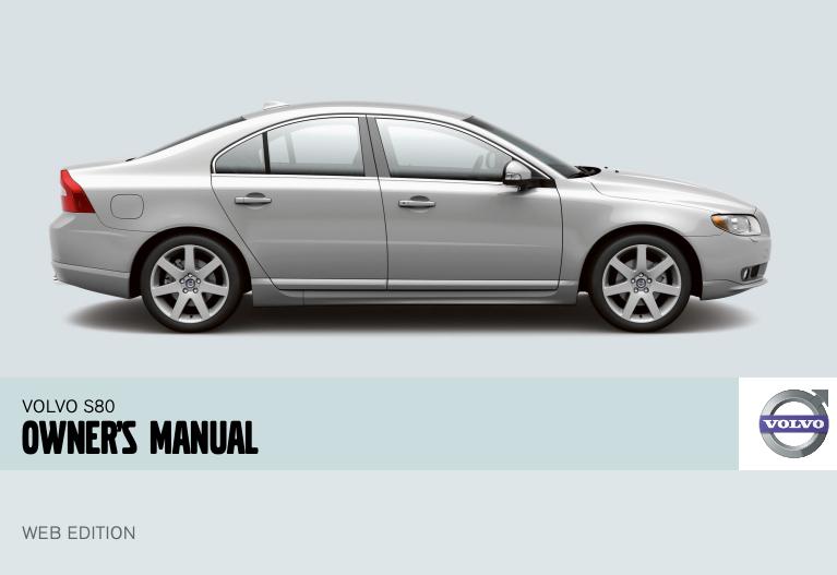 2008 Volvo S80 Owner's Manual Image