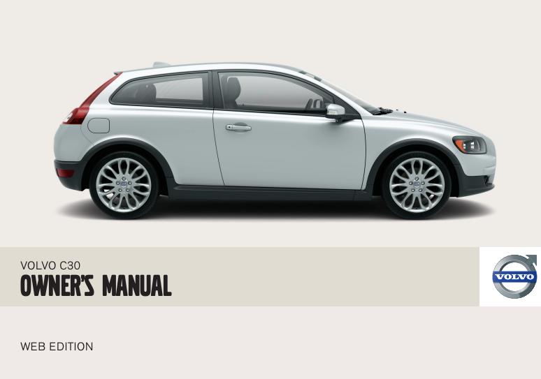 2008 Volvo C30 Owner's Manual Image