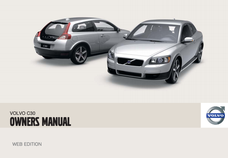 2010 Volvo C30 Owner's Manual Image