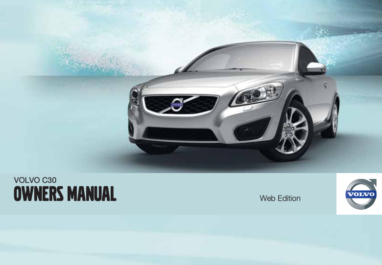 2011 Volvo C30 Owner's Manual Image