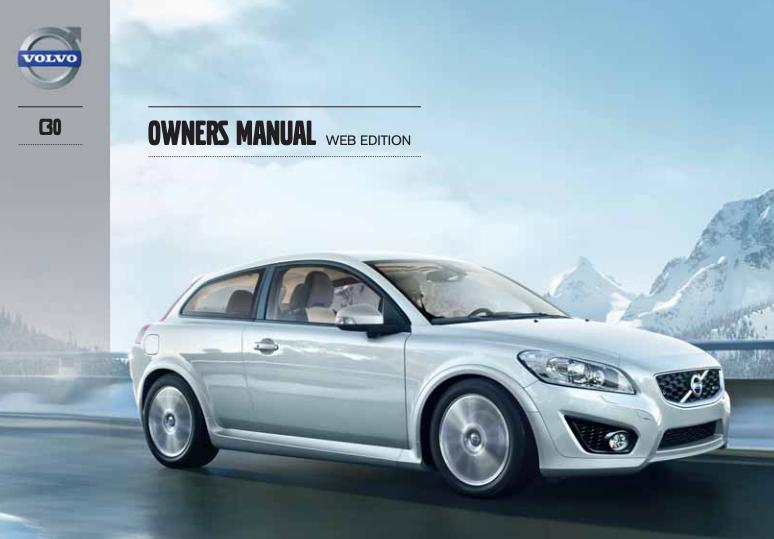 2013 Volvo C30 Owner's Manual Image
