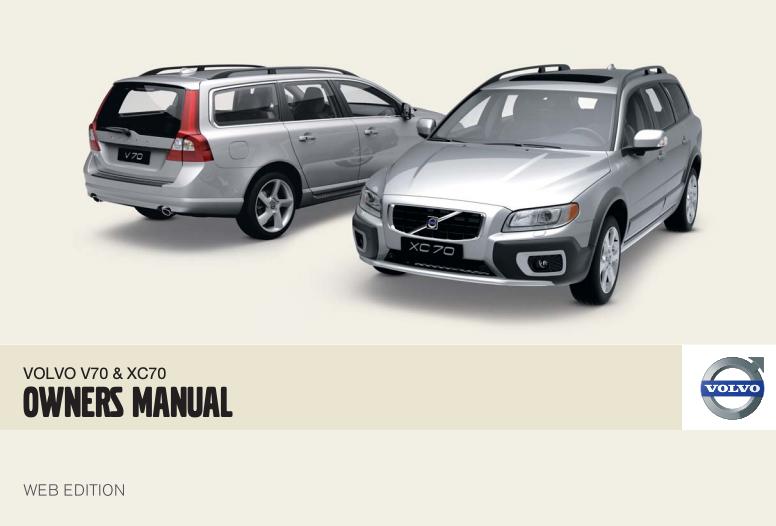 2009 Volvo V70 Owner's Manual Image