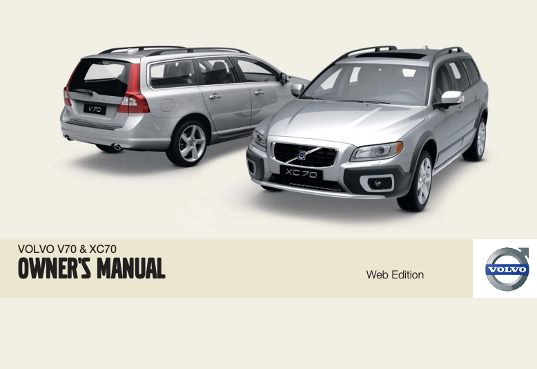 2009 Volvo XC70 Owner's Manual Image