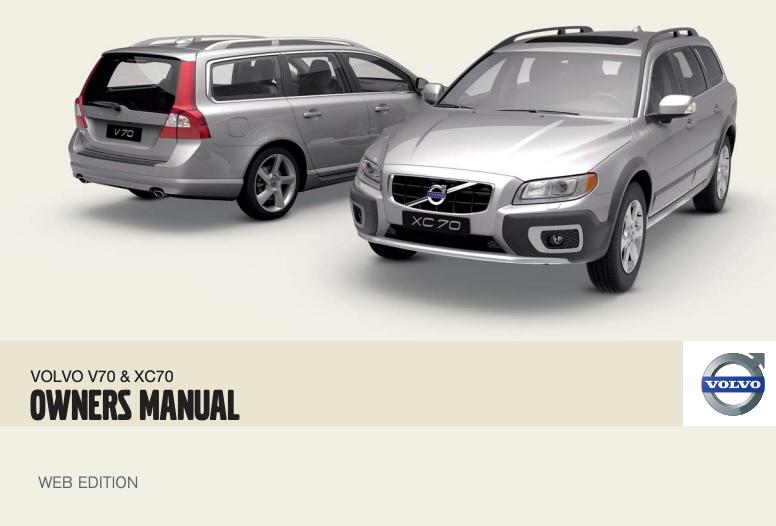 2010 Volvo V70 Owner's Manual Image