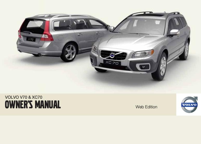2010 Volvo V70/XC70 Owner's Manual Image