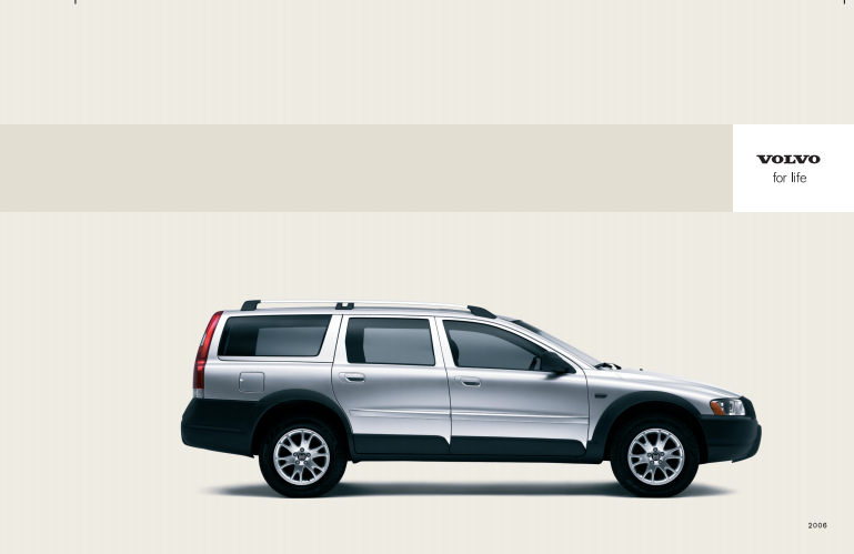 2006 Volvo XC70 Owner's Manual Image
