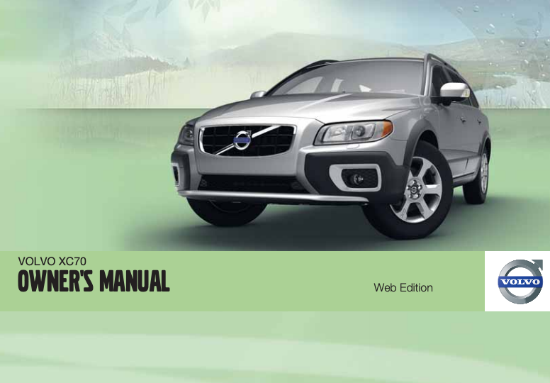 2011 Volvo XC70 Owner's Manual Image