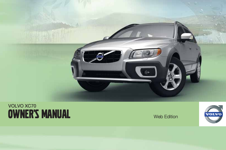 2012 Volvo XC70 Owner's Manual Image