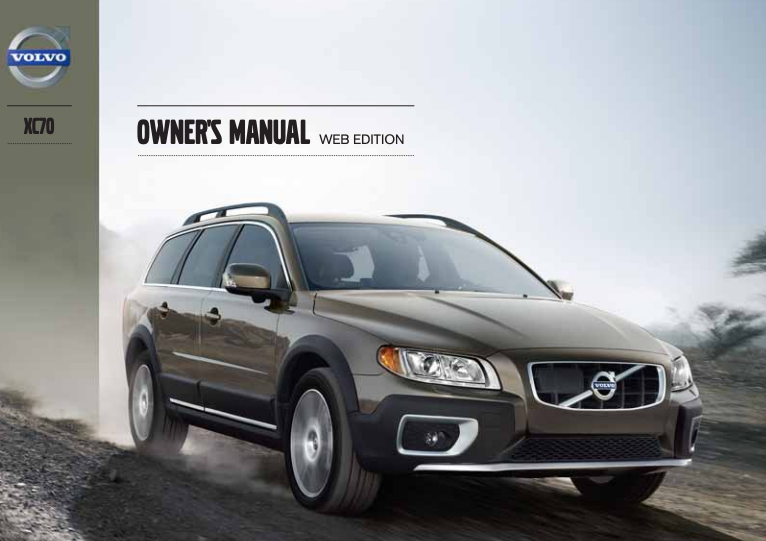 2013 Volvo XC70 Owner's Manual Image