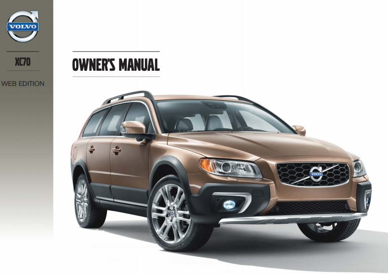 2014 Volvo XC70 Owner's Manual Image