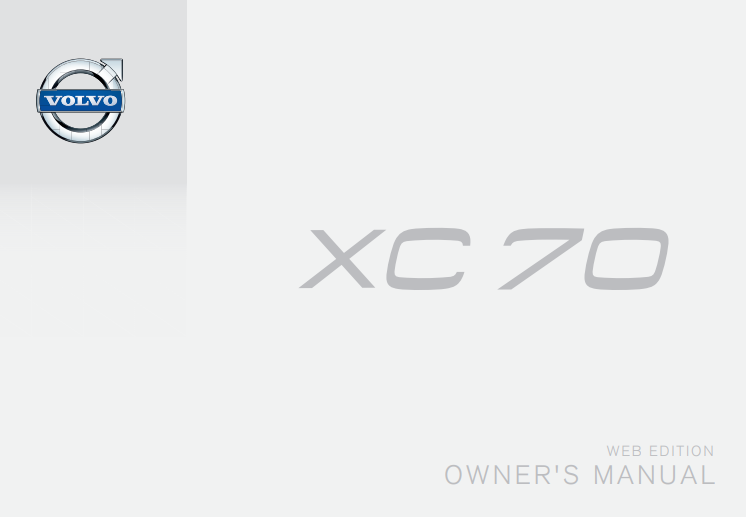 2015.5 Volvo XC70 Owners Manual Image