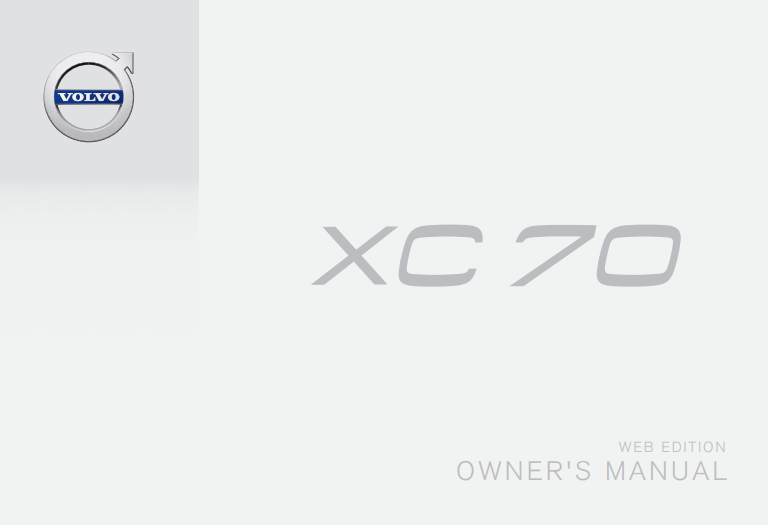 2016 Volvo XC70 Owner's Manual Image