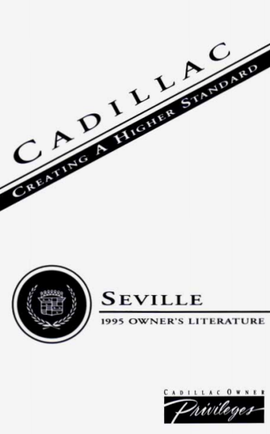 1995 Cadillac Seville Owner's Manual Image