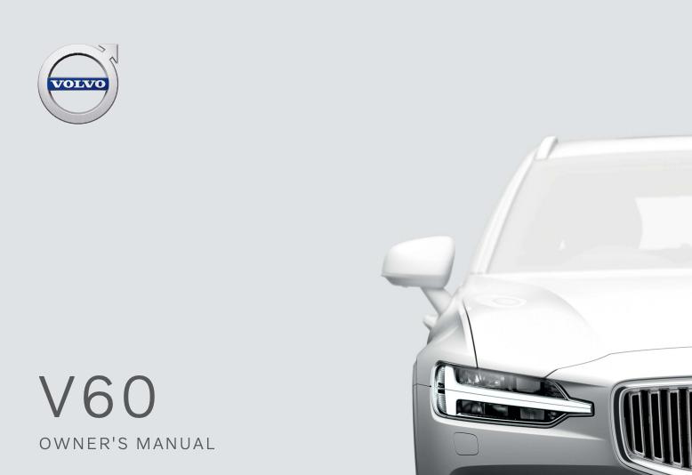 2020 Volvo V60 Owner's Manual Image