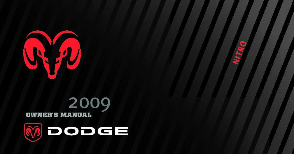 2009 Dodge Nitro Owner's Manual Image