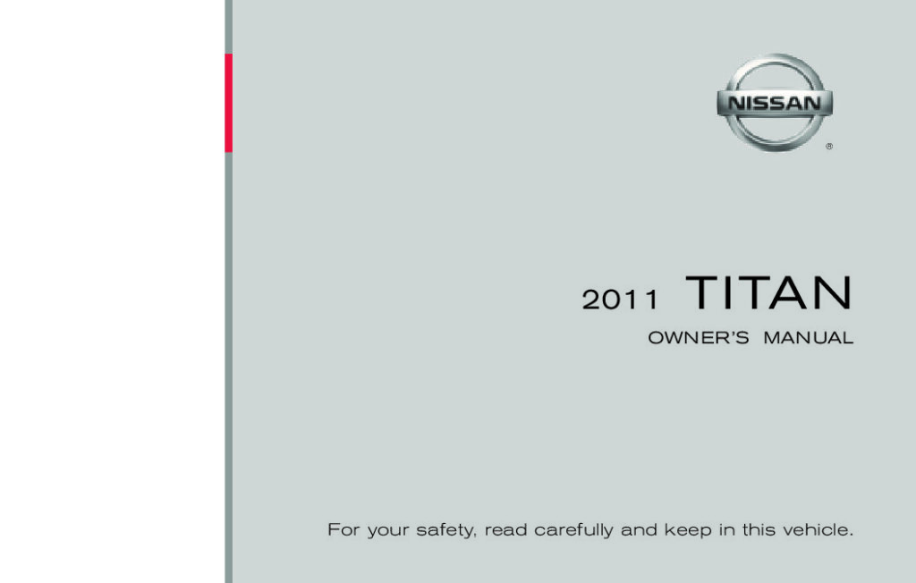 2011 Nissan Titan Owner's Manual Image