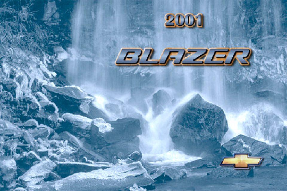 2001 Chevrolet Blazer Owner's Manual Image