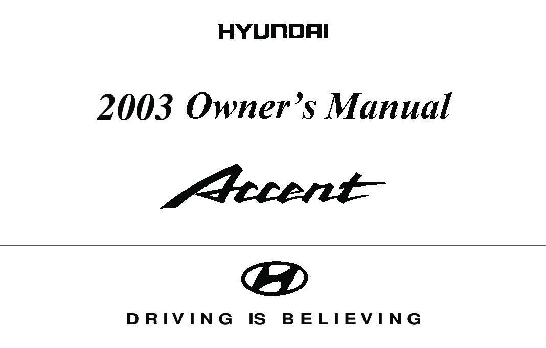 2003 Hyundai Accent Image